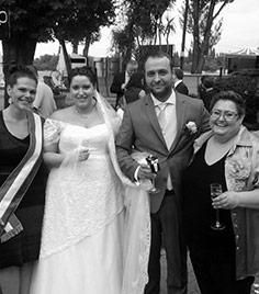 Viki és András R-VISOR Esküvőszervező Iroda Rózsáné Orsi esküvőszervező